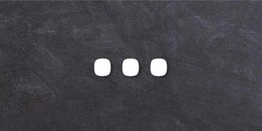 Drei Punkte - warten auf Antwort